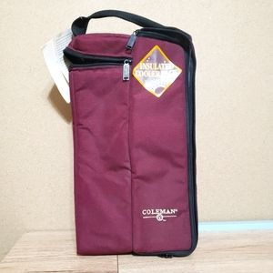 Coleman Insulated Canvas Beverage Tote Bag